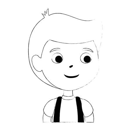 little boy son character vector illustration design Stock Vector - 102264027