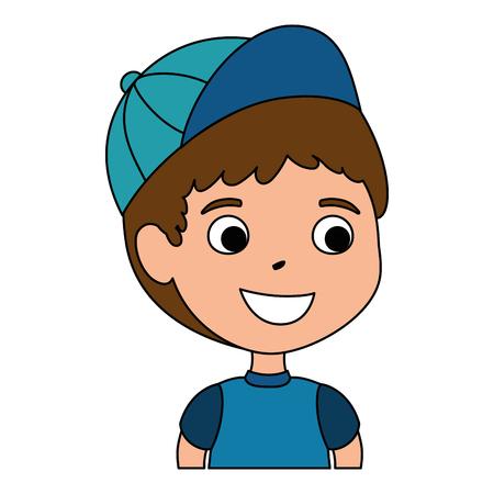 little boy son character vector illustration design Stock Vector - 102262654