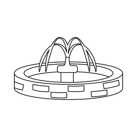 park sink water icon vector illustration design Foto de archivo - 102264460
