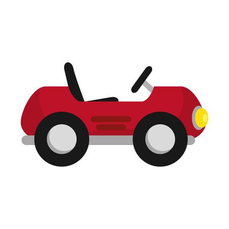 little cart toy with spring vector illustration design Foto de archivo - 102263140
