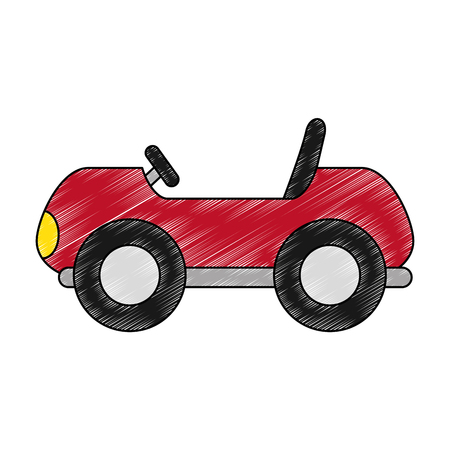 little cart toy icon vector illustration design Foto de archivo - 102263161