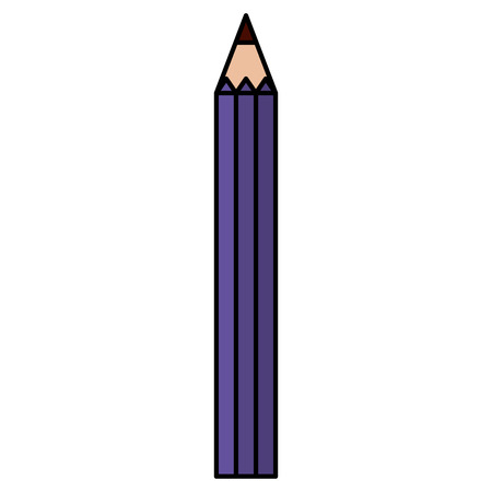 pencil color isolated icon vector illustration design 向量圖像