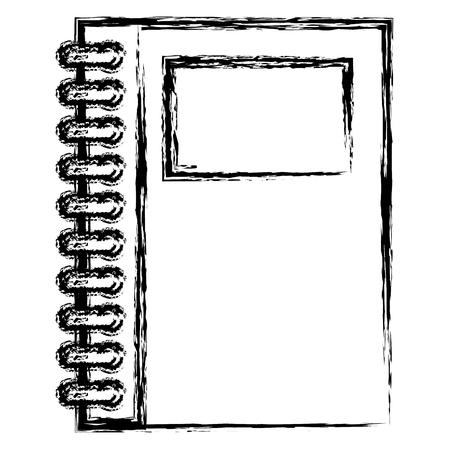 notebooks school isolated icon vector illustration design