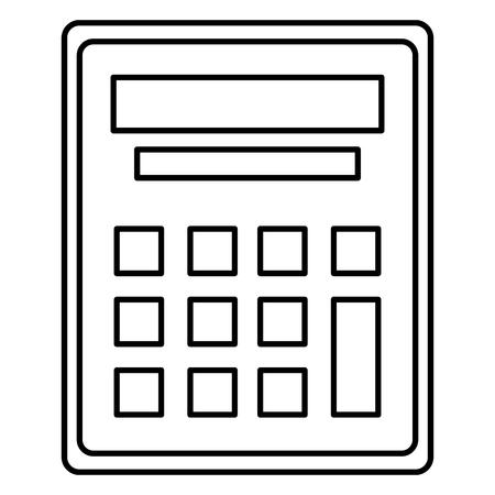 calculator math device icon vector illustration design Фото со стока - 102262455