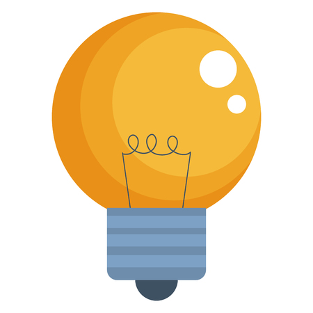 bulb light isolated icon vector illustration design Stock Vector - 102264731