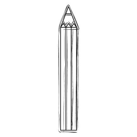 pencil color isolated icon vector illustration design 일러스트