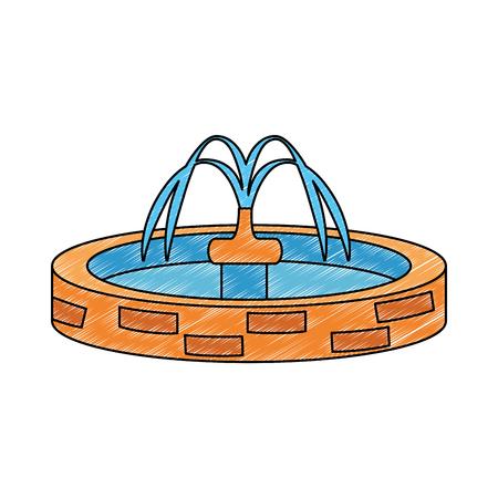 park sink water icon vector illustration design