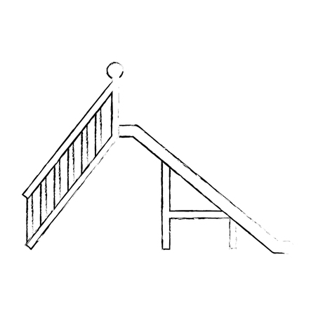 game playground slide icon vector illustration design Foto de archivo - 102382752