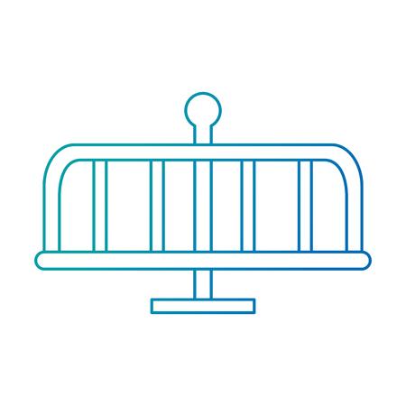 park playground wheel icon vector illustration design