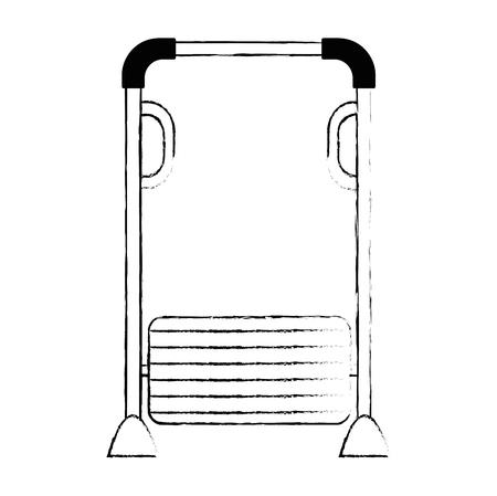 park playground bars icon vector illustration design