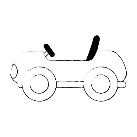 little cart toy icon vector illustration design Stok Fotoğraf - 102404144