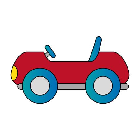 little cart toy icon vector illustration design Foto de archivo - 102404218