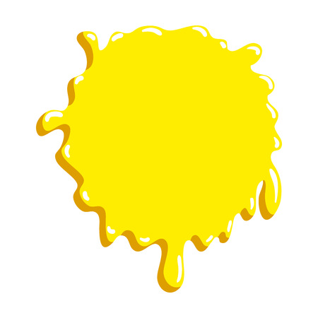 paint splash color icon vector illustration design