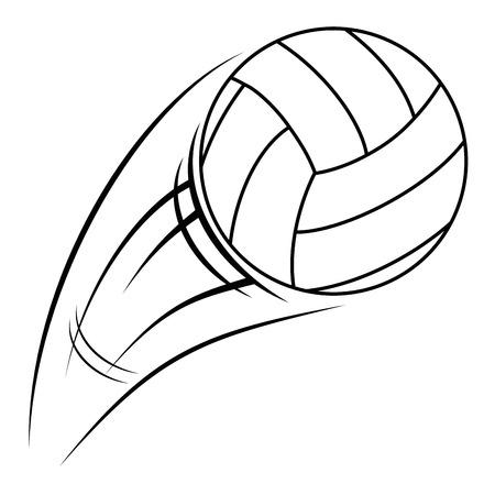 volleyball balloon isolated icon vector illustration design 向量圖像