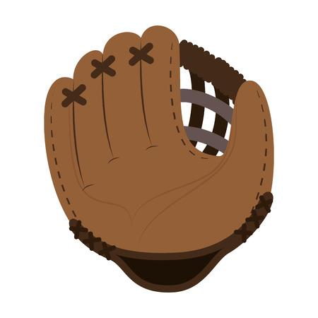 baseball glove isolated icon vector illustration design Archivio Fotografico - 102403622