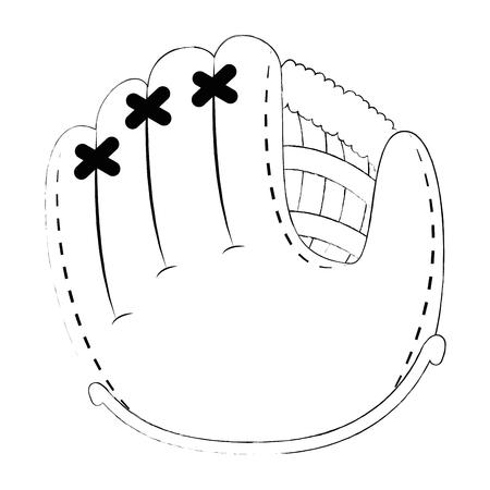 baseball glove isolated icon vector illustration design Archivio Fotografico - 102395721