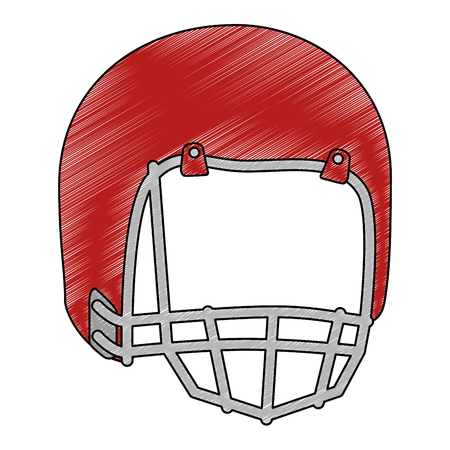 american football helmet icon vector illustration design