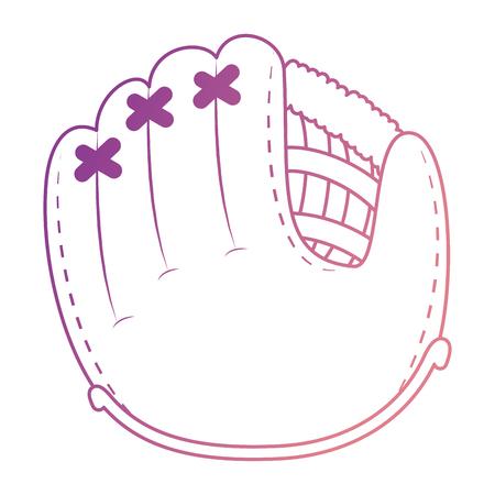 baseball glove isolated icon vector illustration design Archivio Fotografico - 102395978