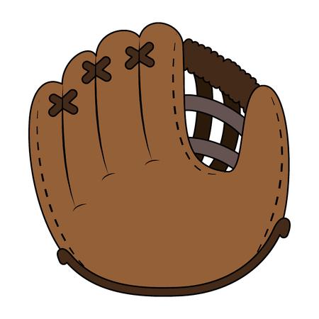 baseball glove isolated icon vector illustration design Archivio Fotografico - 102396057