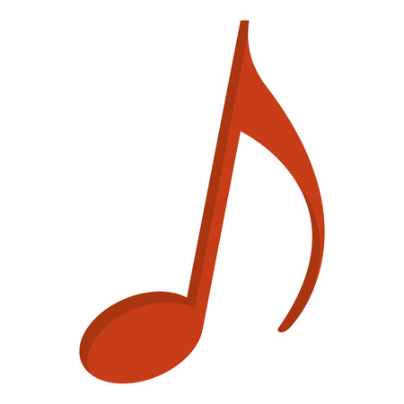 music note isolated icon vector illustration design 일러스트