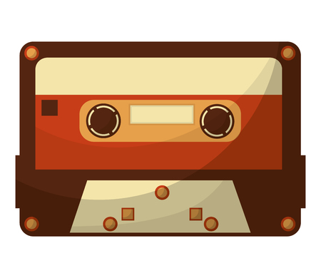 cassette music retro style vector illustration design Reklamní fotografie - 102475025