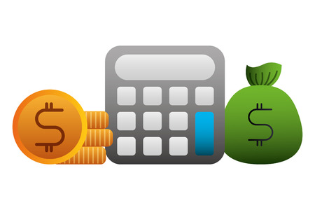 economy and finances set icons vector illustration design