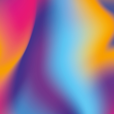 fluid abstract hologram blurred background design vector illustration