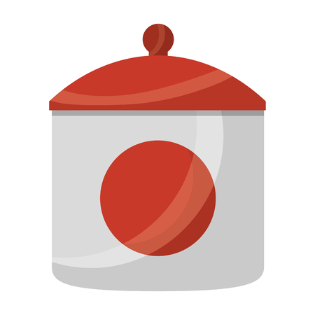ceramic sugar pot icon vector illustration design Иллюстрация