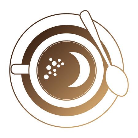delicious coffee cup icon vector illustration design 일러스트