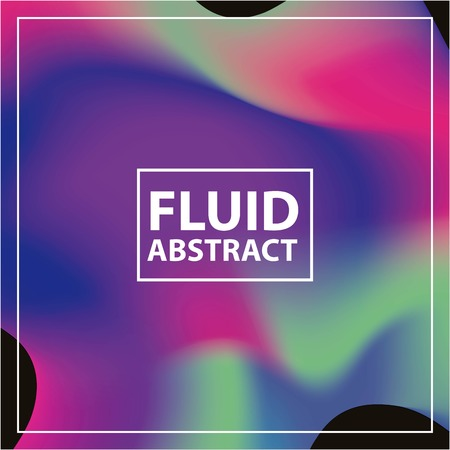 fluid abstract background with vibrant colors vector illustration Imagens - 102520147