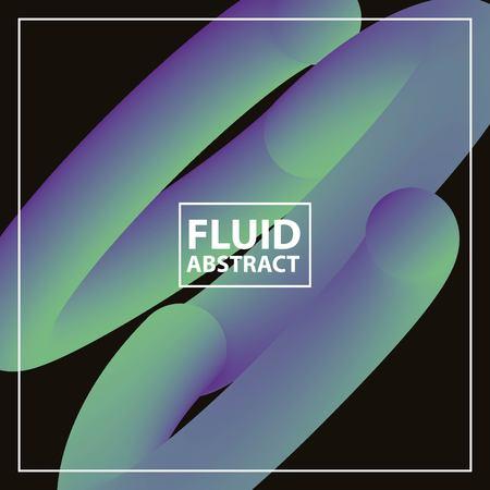 fluid abstract background dark spiral circles vector illustration