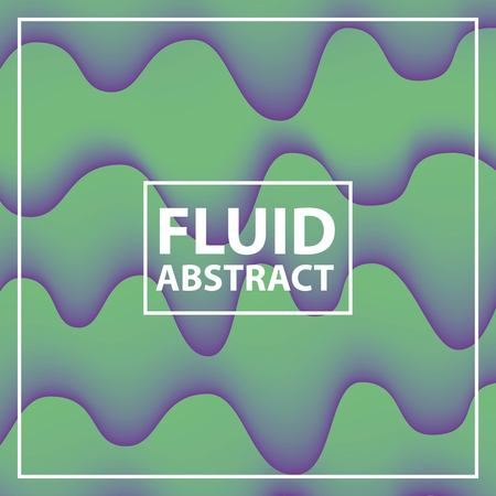 fluid abstract background neon splash melted vector illustration