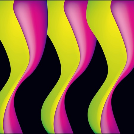 abstract covers background waves pink yellow fluid vector illustration waves