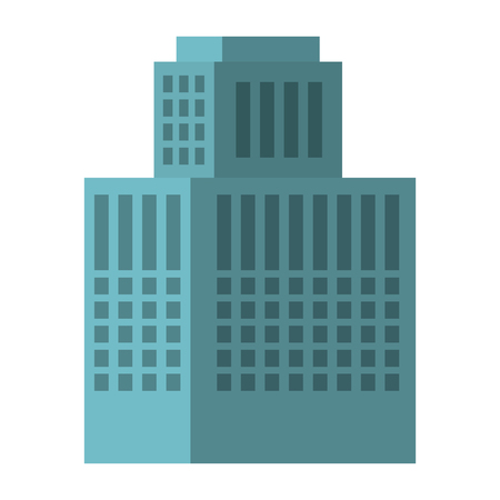 exterior building isolated icon vector illustration design