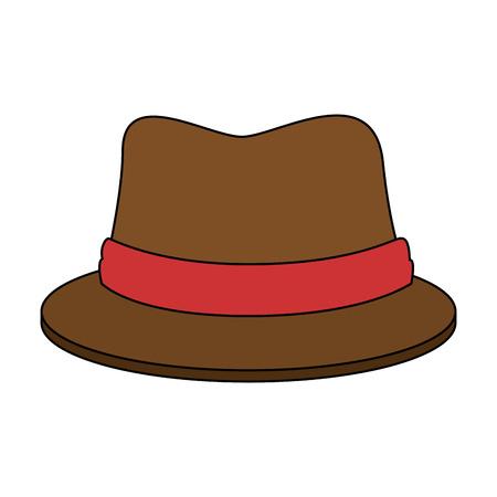 traditional canadian hat icon vector illustration design Stock Illustratie