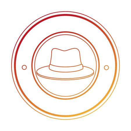 traditional canadian hat seal vector illustration design