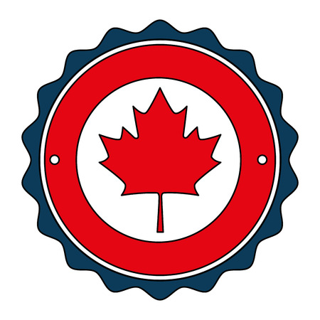 maple leaf emblem icon vector illustration design Фото со стока - 102896562