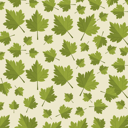 maple leafs pattern background vector illustration design