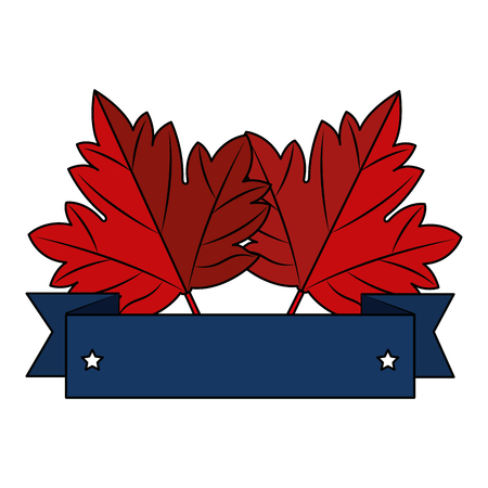 maple leaf emblem icon vector illustration design Фото со стока - 102903824