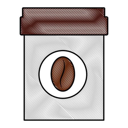 ceramic coffee pot isometric icon vector illustration design