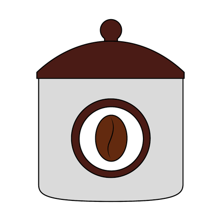 ceramic coffee pot icon vector illustration design