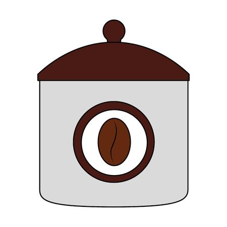 ceramic coffee pot icon vector illustration design