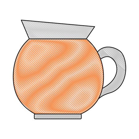 coffee maker kitchenware handle image vector illustration drawing Illustration