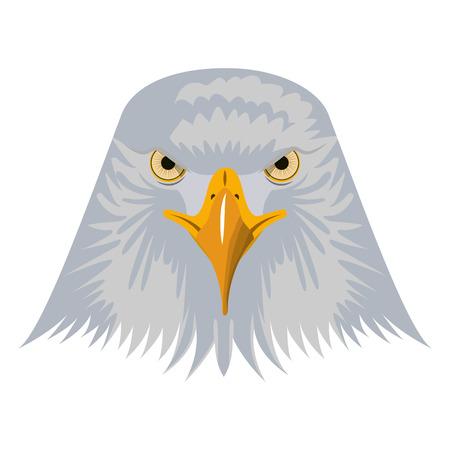 head bald eagle symbol native american vector illustration Stock Vector - 102916870