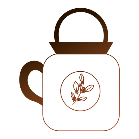 kitchen teapot isolated icon vector illustration design Illusztráció