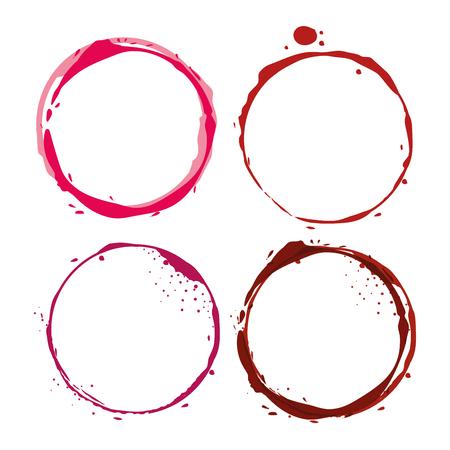 wine label circles icon vector illustration design