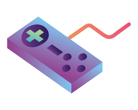 game control isometric icon vector illustration design Stock fotó - 102972263