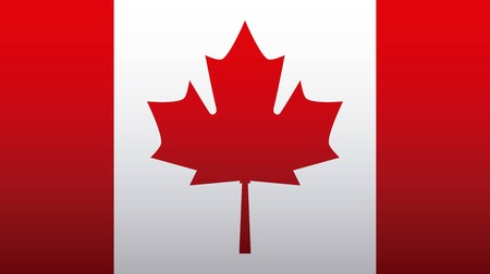 independence canada day design of flag vector illustration