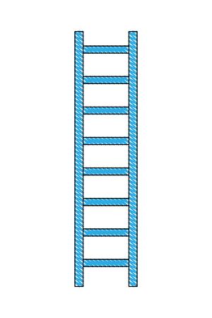 Échelle de construction icône isolé vector illustration design
