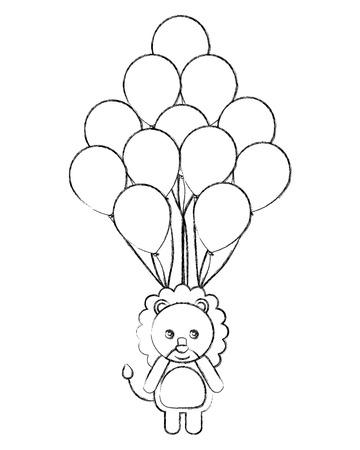 juguete lindo del juguete y el festival de fiesta ilustración vectorial